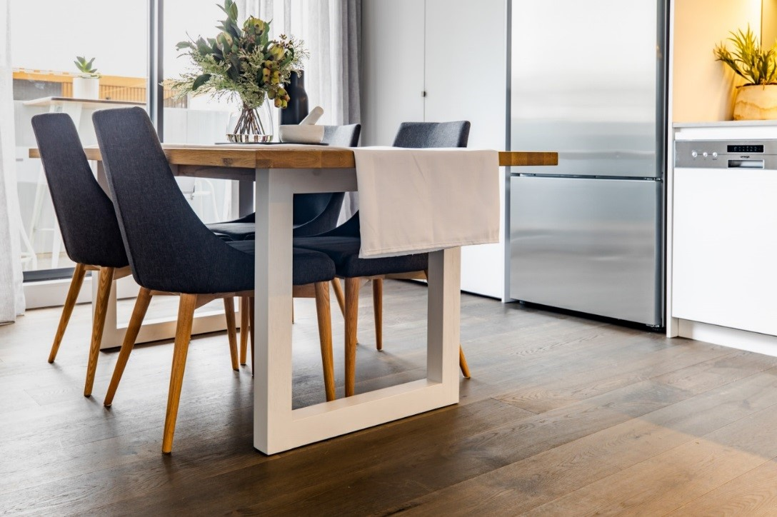 How To Achieve A Scandi Appeal With Dark Coloured Timber Style Timber Floor